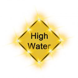Solution-high water sign new