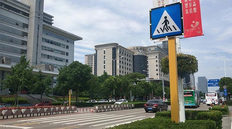 crosswalk system